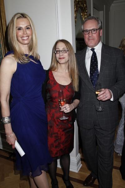 Patty Farmer, Laura Ross (editor) and Vantage Press publisher David Lamb.