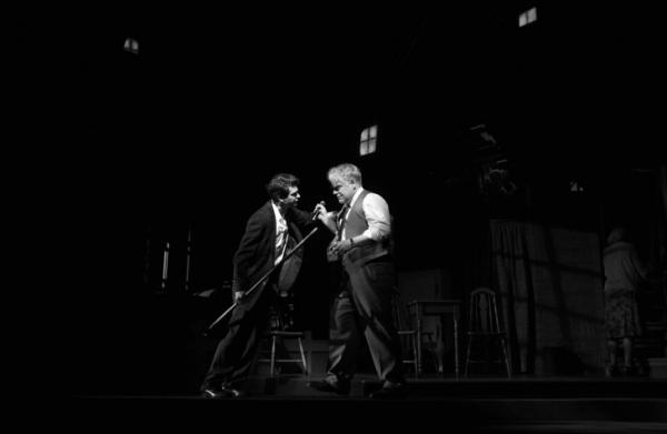 Andrew Garfield and Philip Seymour Hoffman