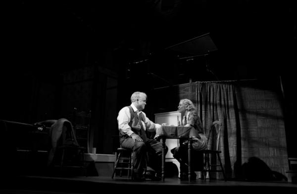 Philip Seymour Hoffman and Linda Emond