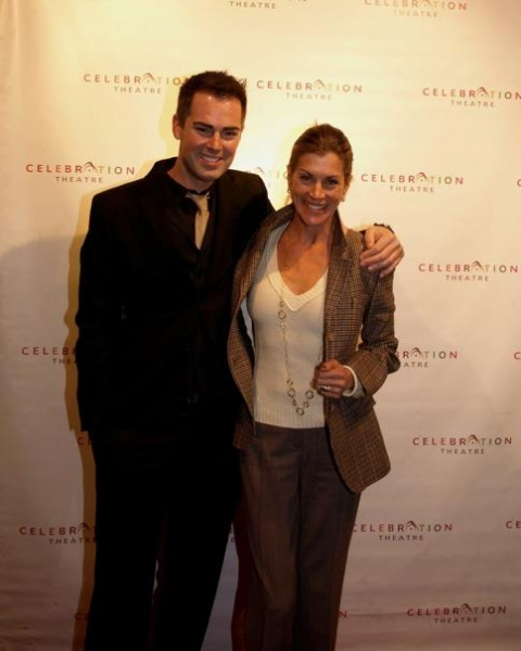 Michael Matthews and Wendie Malick at Celebration Theatre's THE COLOR PURPLE Red Carpet Gala Performance!