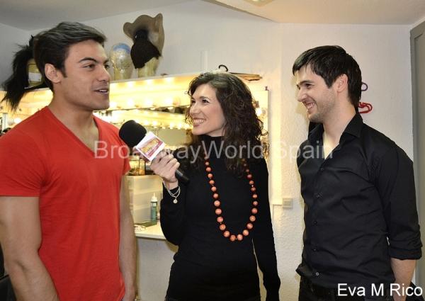 Carlos Rivera, Laura Pelaez y Marc Pociello
