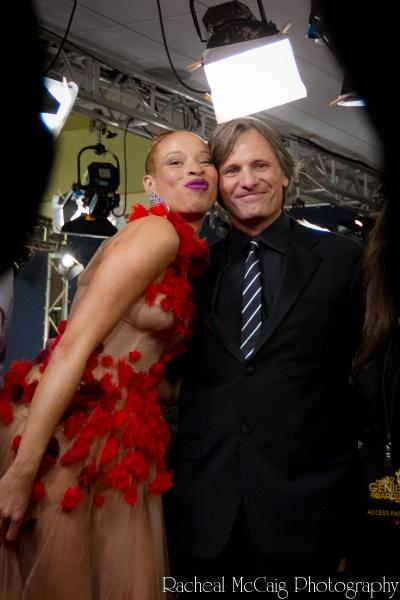 Stacey McKenzie and Viggo Mortensen