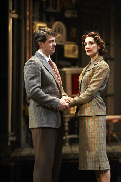 Paul Hurley and Jodi Dominick at First Look at Great Lake Theater's THE MOUSETRAP