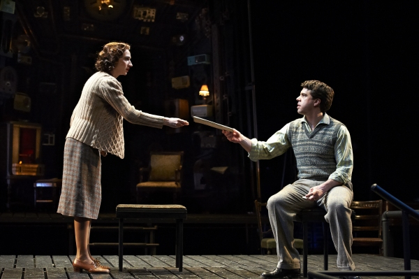 Jodi Dominick and Paul Hurley at First Look at Great Lake Theater's THE MOUSETRAP