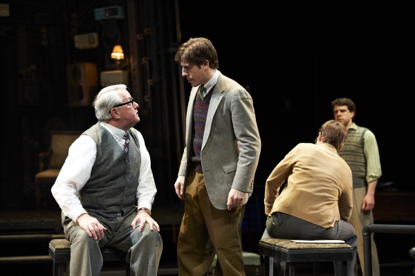 Aled Davies and Dan Lawrence at First Look at Great Lake Theater's THE MOUSETRAP