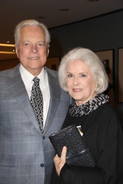 Robert Osborne and Sally Ann Howes Photo