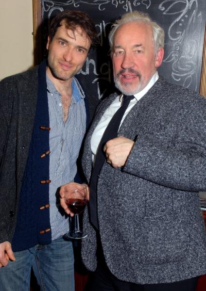 Ed Stoppard and Simon Callow