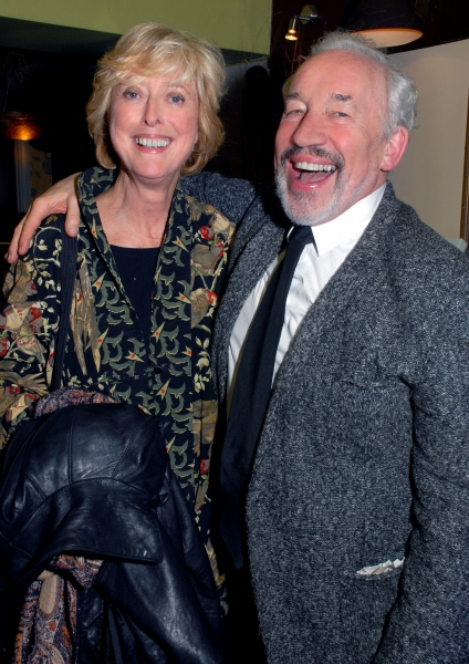 Maria Aitken and Simon Callow