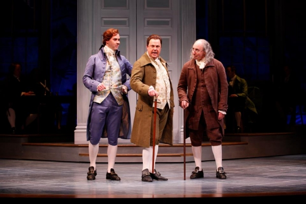 Photo Flash: First Look at Robert Cuccioli, Brooks Ashmanskas, et al. in Ford's Theatre's 1776