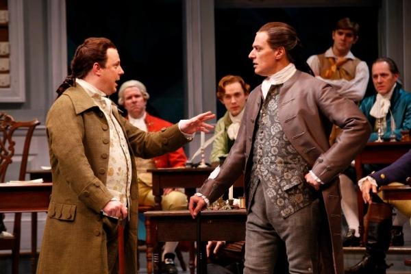 Brooks Ashmanskas  and Robert Cuccioli  at First Look at Robert Cuccioli, Brooks Ashmanskas, et al. in Ford's Theatre's 1776