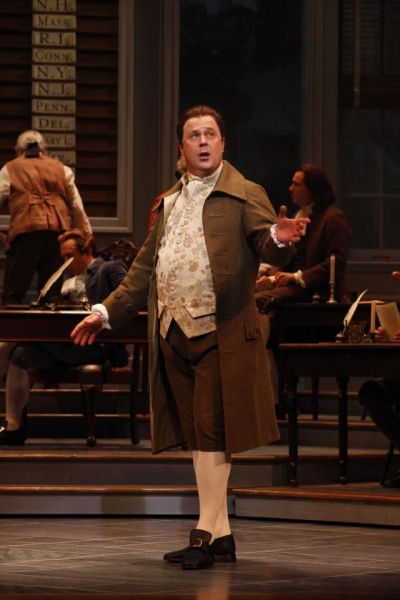 Brooks Ashmanskas at First Look at Robert Cuccioli, Brooks Ashmanskas, et al. in Ford's Theatre's 1776
