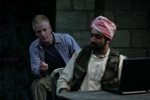 John Hickok as Nick and Bhavesh Patel as Bashir