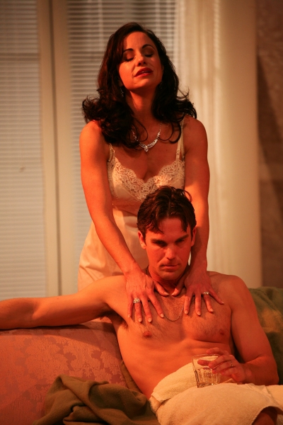 Jenifer Cote as Maggie and Clint Campbell as Brick