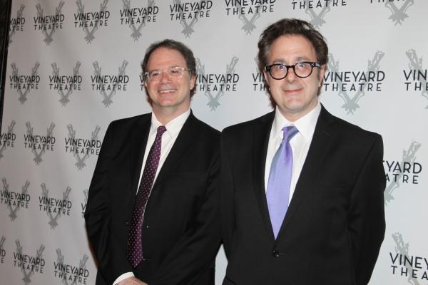 Douglas Aibel and Nicky Silver at Vineyard Gala Honors Linda Lavin