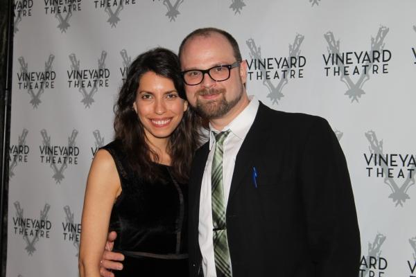 Carl Andress and Sarah Gabbe at Vineyard Gala Honors Linda Lavin