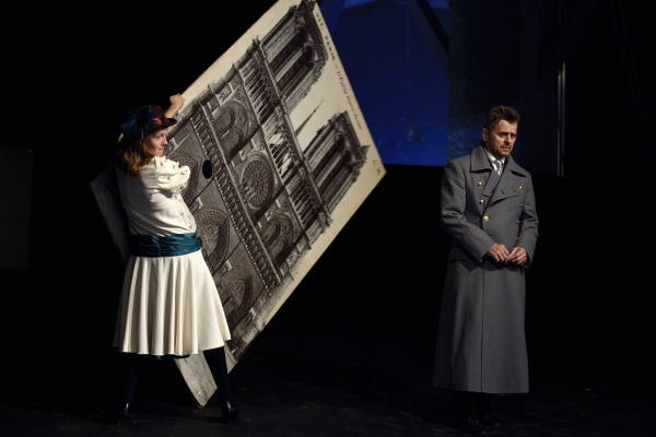 Anna Sinyakina and Mikhail Baryshnikov
