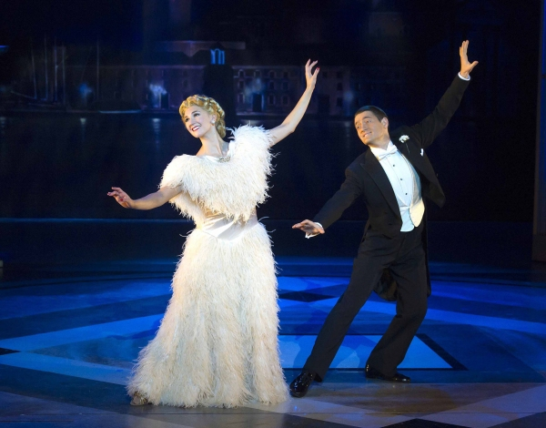 Photo Flash: First Look at Tom Chambers & Summer Strallen in Pre-West-End TOP HAT