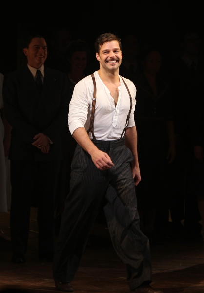 Photo Coverage: EVITA's First Preview Curtain Call