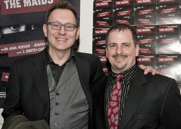 Michael Emerson and Jesse Berger at Jesse Berger & More at The Benefit Gala for Red Bull's THE MAIDS