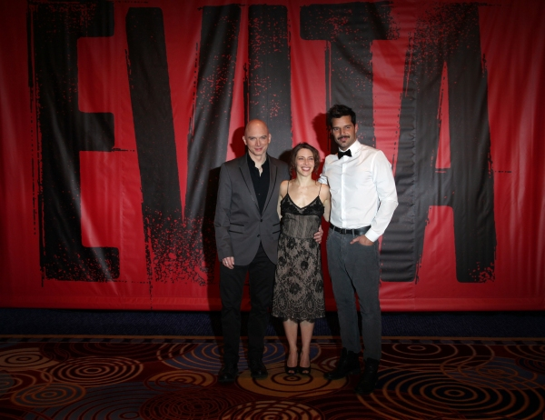 Photo Coverage: EVITA Cast Meets the Press!