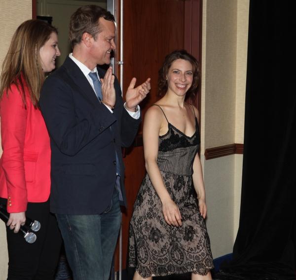 Photo Coverage: EVITA Cast Meets the Press!