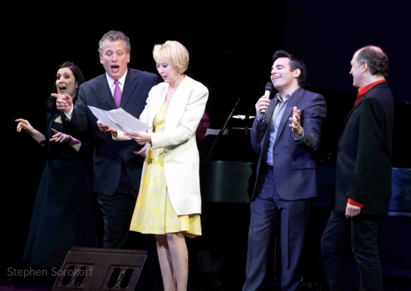 Stephanie D'Abruzzo, Billy Stritch, Julie Halston, Mario Cantone,Charles Busch at Debra Messing, Marlo Thomas & More Honor Linda Lavin at Vineyard Theatre