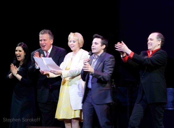 Stephanie D'Abruzzo, Billy Stritch, Mario Cantone,Charles Busch at Debra Messing, Marlo Thomas & More Honor Linda Lavin at Vineyard Theatre