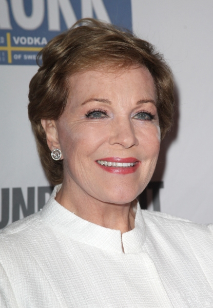 Julie Andrews at Bernadette Peters, Kristin Chenoweth, et al. Honor Rob Marshall at Roundabout Gala