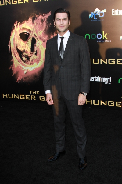 Wes Bentley at THE HUNGER GAMES Premiere