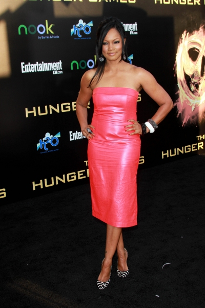 Garcelle Beauvais at THE HUNGER GAMES Premiere