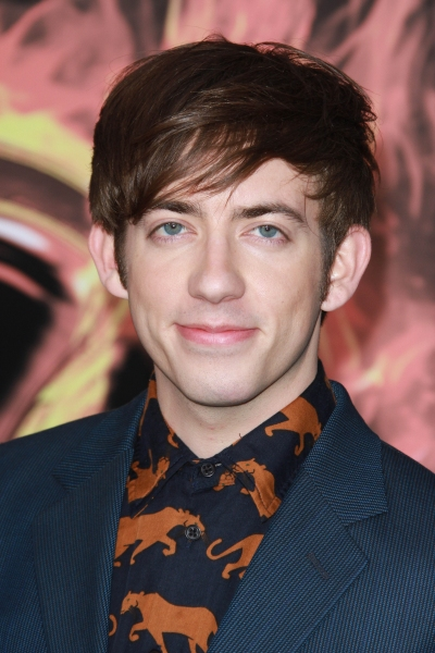Kevin McHale at THE HUNGER GAMES Premiere