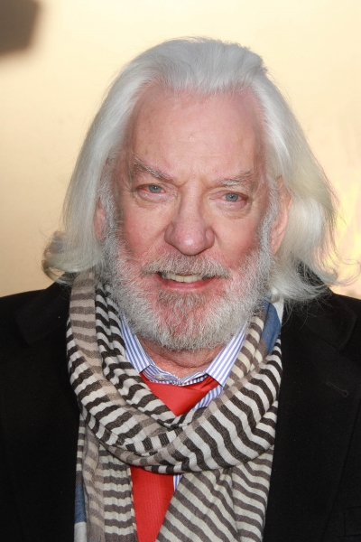 Donald Sutherland at THE HUNGER GAMES Premiere