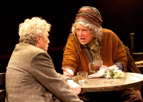Bill Buell and Kristine Nielsen  at Old Globe's ANNA CHRISTIE- Production Shots!