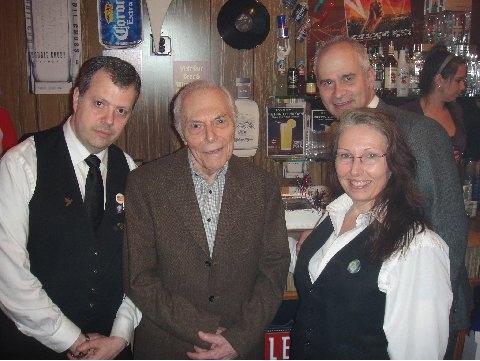 John Bianacamano, Frank Biancamano, Linda Maley, Alan Markinson  Photo