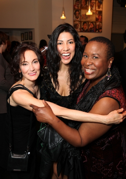 Terri McMahon, Stephanie Beatriz and Kimberly Scott