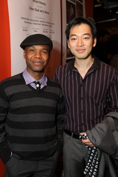 Rodney Gardiner and Daisuke Tsuji  Photo