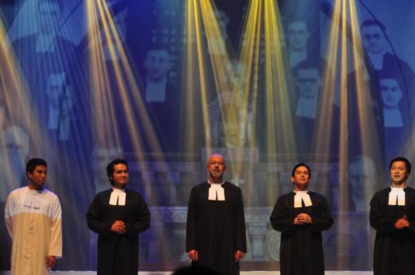 Floyd Tena, Al Gatmaitan, Michael de Mesa, Franco Laurel, Miguel Castro