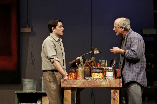 Matthew Amendt (as Ken) and Joseph Graves (as Rothko)