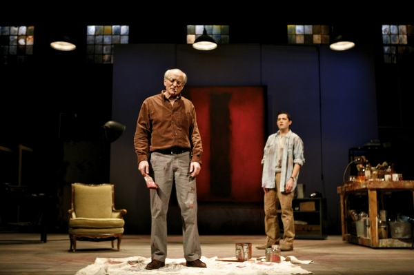 Joseph Graves (as Rothko) and Matthew Amendt (as Ken)