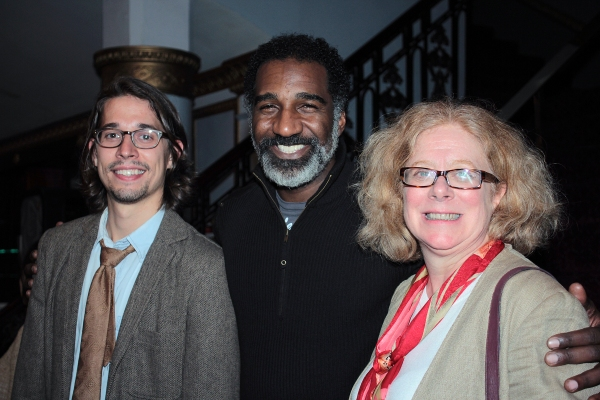 Patrick Berger, Norm Lewis, Victoria Bailey