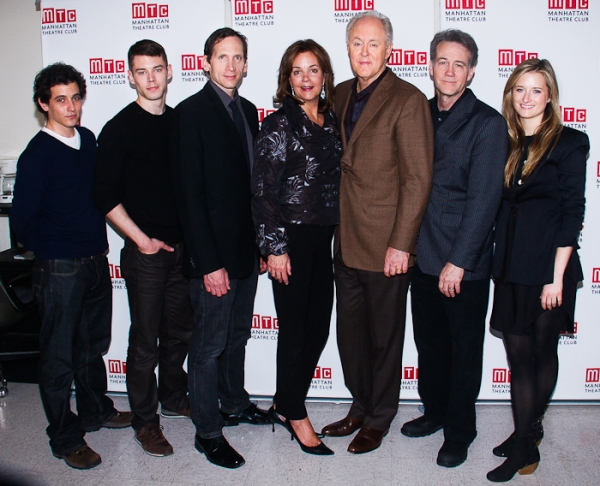 Mark Bonan, Brian J. Smith, Stephen Kunken, Margaret Colin, John Lithgow, Boyd Gaines, and Grace Gummer