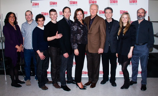 Lynne Meadow, David Auburn, Mark Bonan, Brian J. Smith, Stephen Kunken, Margaret Colin, John Lithgow, Boyd Gaines, Grace Gummer, and Daniel Sullivan