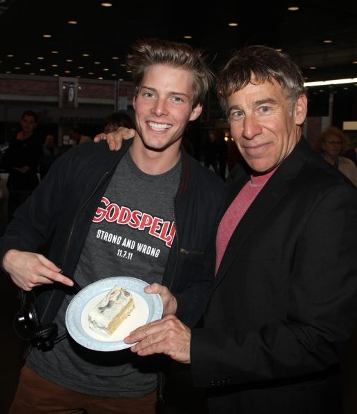Photo Coverage: GODSPELL & WICKED Wish Stephen Schwartz a Happy Belated Birthday!