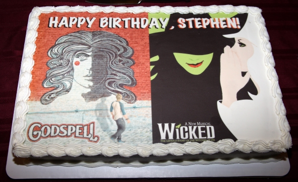 Photo Coverage: GODSPELL & WICKED Wish Stephen Schwartz a Happy Belated Birthday!
