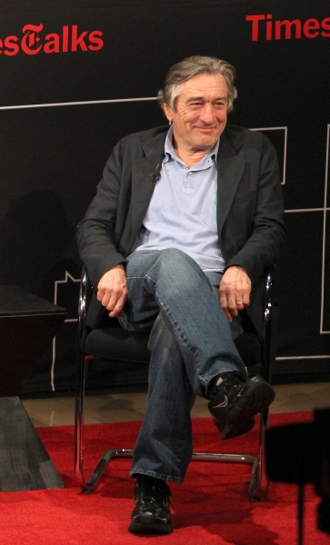 Robert De Niro at Robert De Niro & Paul Weitz Talk BEING FLYNN at TimesTalks