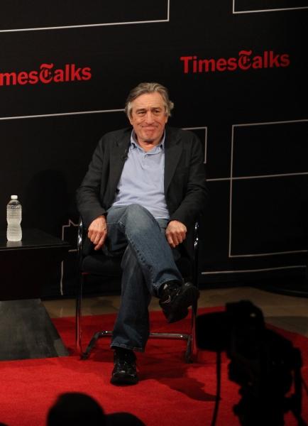 Robert De Niro at Robert De Niro & Paul Weitz Talk BEING FLYNN at TimesTalks