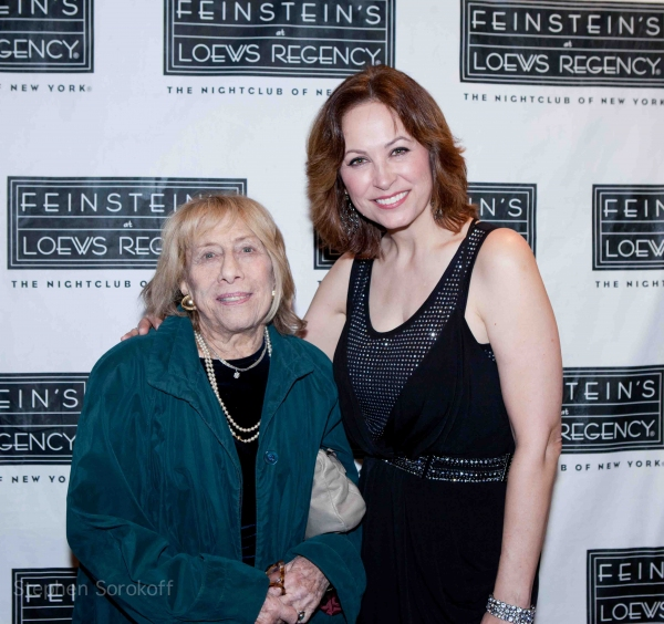 Lynn Lane (Mrs. Burton Lane) & Linda Eder