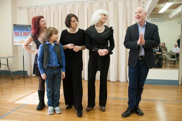 Wyatt, Lucas Schultz, Judith Blazer, Louise Pitre, and Ray Roderick Photo