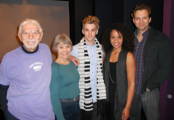 Tom Jones, Susan Watson, Aaron Carter, Stephanie Umoh and Graham Rowat