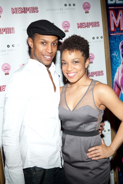 Photo Coverage: MEMPHIS Celebrates 1,000th Performance!